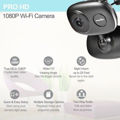 This Fully Equipped Full Hd Wifi Camera Is An Excellent Option For Monitoring Your Dogs While You Re Away Smart Technology Connects The Feed To