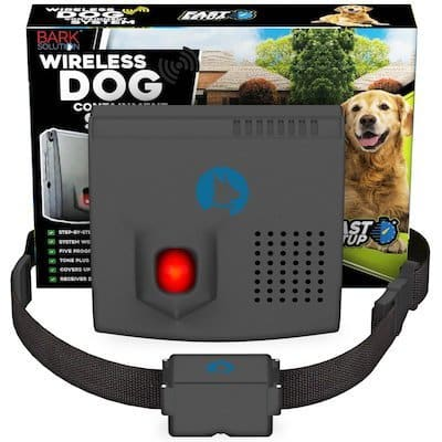 if youu0027re looking for a well rated affordable wireless dog fence it doesnu0027t get much better than this system from bark solution the hybrid system pairs a