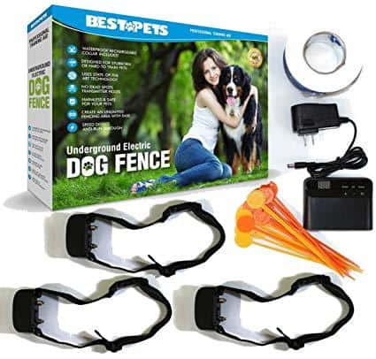 BestPets Hidden Underground Electric Dog Fence