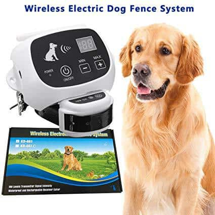 CarePetMost Wireless Electric Dog Fence System