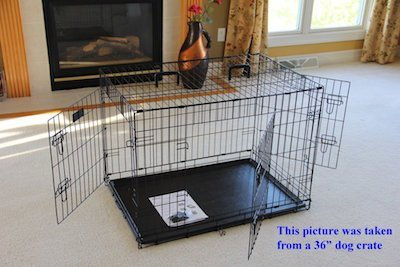 if youu0027ve been perusing the smorgasbord of portable softsided large dog crates add this one to the list crafted from strong steel tubing and premium