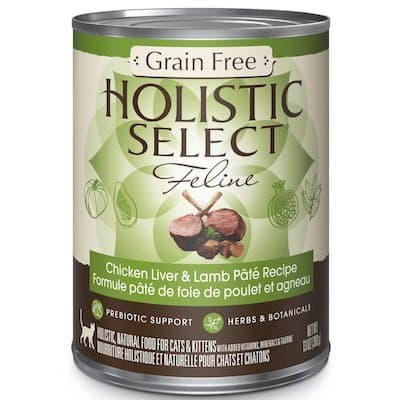 Wholesome doesn't get much tastier than this all-natural, grain-free cat  food, which blends premium meat, chicken and fish with real broth, eggs, ...