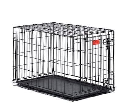 in addition to all the features of its sibling this large metal dog crate - Collapsible Dog Crate