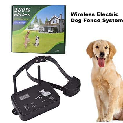 OKPET Wireless Electric Dog Fence System