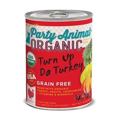 Party Animal Organic Canned Dog Food