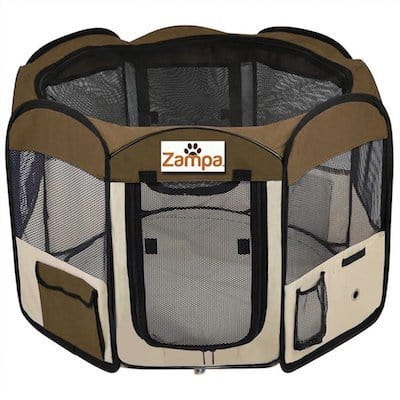 This Eight Sided Doggy Playpen Gives Your Pooch (or Pooches) A Convenient,  Comfortable Place To Relax In Comfort, No Matter Where Your ...