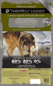 Timberwolf Black Forest Dog Food