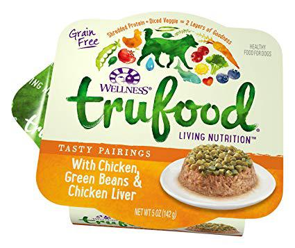 Wellness TruFood Tasty Pairings Natural Grain Free Wet Raw-Inspired Cat Food