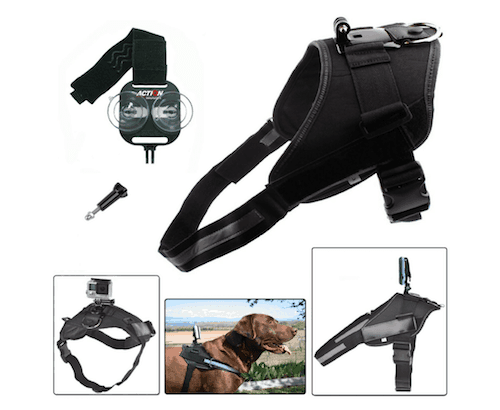 Action Mount Dog Chest Harness with Universal Adapter