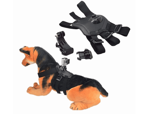 CAMTOA Cool Dog Harness with Mount for GoPro Hero