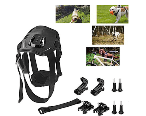 Captain Fetch Dog Harness for GoPro Cameras