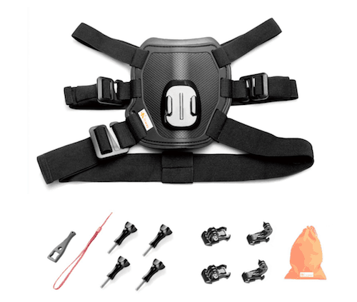 Kitway Dog Harness with Chest Mount for Action Cameras