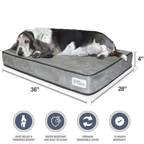 PetFusion SerenityLounge Dog Bed