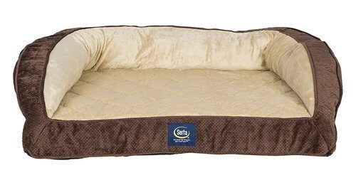 Serta Orthopedic Quilted Couch
