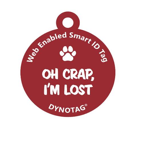 Dynotag WebGPS Enabled QR Code Smart Pet Tag