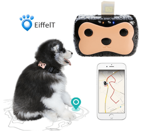 EiffelT Waterproof Mini GPS Pet Tracker