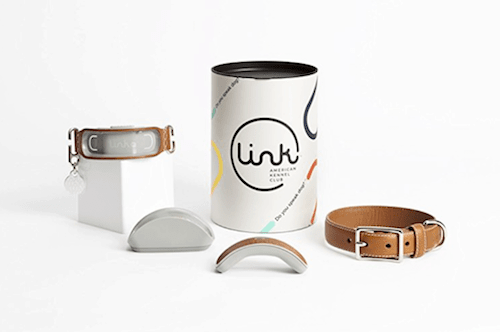 Link AKC Smart Dog Collar with GPS Location Tracker