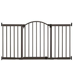 Summer Infant Metal Expansion Gate 6 Foot Wide Extra Tall Walk-Thru