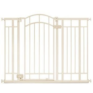 Summer Infant Multi-Use Deco Extra Tall Walk-Thru Gate Beige