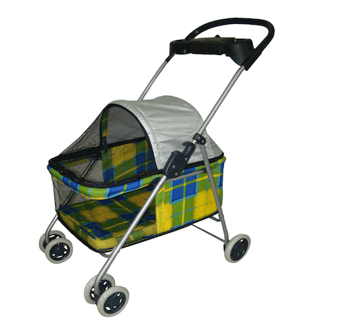 BestPet Posh Pet Stroller with Cup Holder