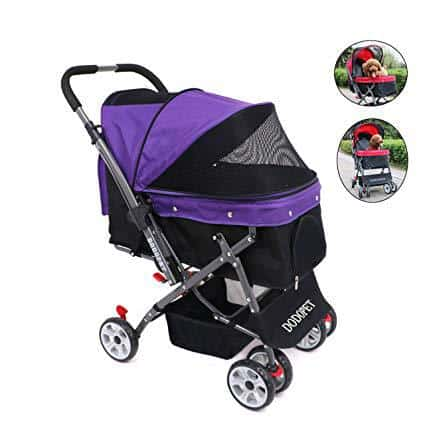 DODO PET by WorldWide Selection Pet - Pet Stroller with 4 Wheels