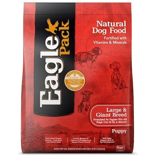 Eagle Pack Natural Dry Dog Food - Large Breed Puppy