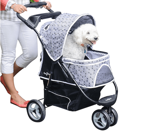 Gen7 Pets Promenade Pet Stroller with Smart Canopy