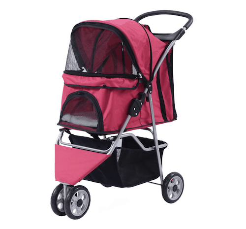 Giantex ThreeWheel Pet Stroller