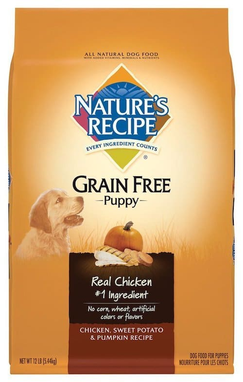 Nature's Recipe Grain Free Dry Puppy Food