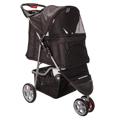 OxGord ThreeWheel Pet Stroller