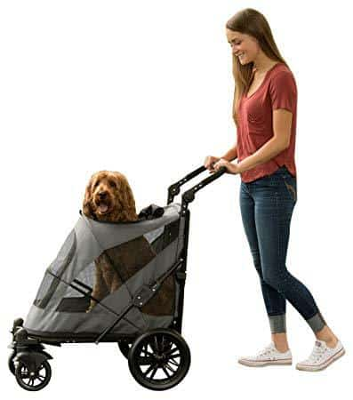 Pet Gear No-Zip Pet Stroller