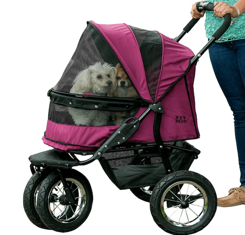 Pet Gear NoZip Double Pet Stroller