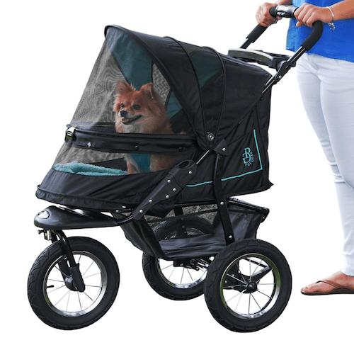 Pet Gear NoZip NV Pet Stroller Ziperless Entry