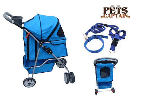 PetsCaptain Premium Quality Pet Carrier and Stroller