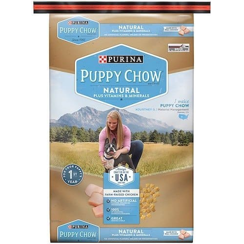 Purina Puppy Chow Natural Plus Vitamins & Minerals Dog Food