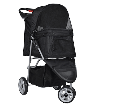 VIVO ThreeWheel Pet Stroller