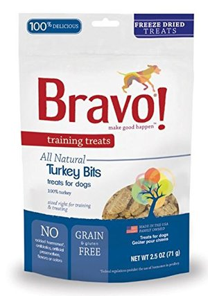 Bravo! Premium Freeze-Dried Training Treats for Dogs