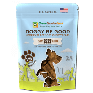 Doggy Be Good™ CBD Soft Chew Treats by Green Garden Gold