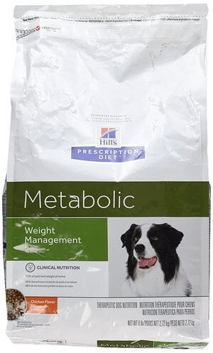 Hills Prescription Diet Metabolic Canine Dry Dog Food 6-lb bag