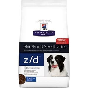 Hills Prescription Diet zd Original Skin Food Sensitivities Dry Dog Food 25 lb