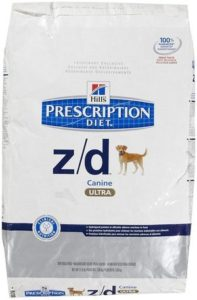 Hills ZD ULTRA Allergen-Free Dog Food 176 lb
