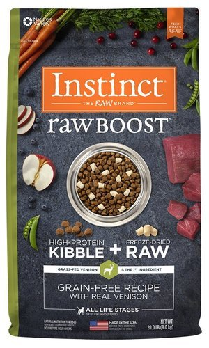 Instinct Raw Boost Grain Free Recipe Natural Dry Dog Food by Natures Variety