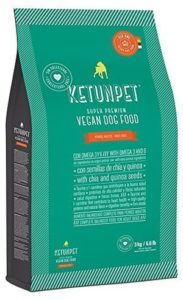 KetunPet Vegan Dog Food - ADULT - 66 and 22 lbs bags