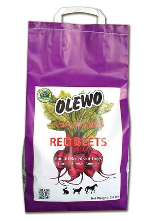 Olewo Dehydrated Red Beets Dog Food Supplement