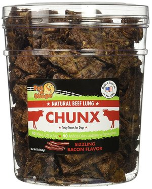 Pet 'n Shape All Natural Beef Lung CHUNX