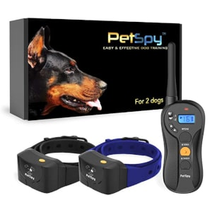 PetSpy P620B Dog Training Collar