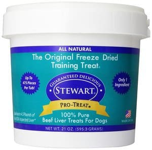 Stewart Pro-Treat Freeze-Dried Liver Treats