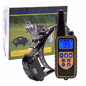 EtekStorm Rechargeable Electronic Dog Training Collar