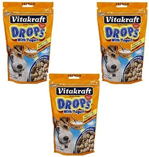 VitaKraft Drops with Yogurt Dog Treat Snacks