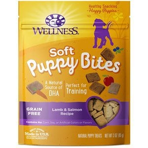 Wellness Puppy Bites Natural Grain Free Puppy Training Treats